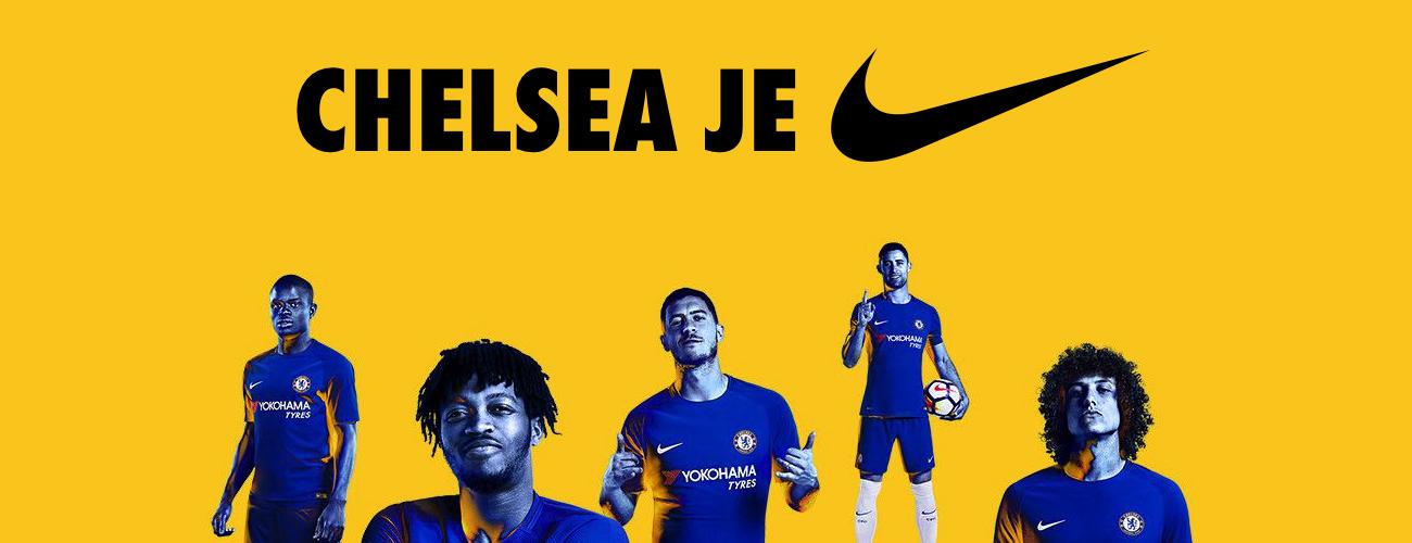 Nové dresy Nike Chelsea Londýn 2017/18