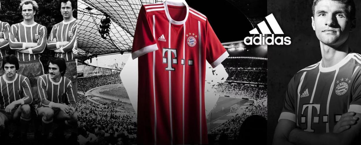 Nové dresy Bayern Mníchov 2017/18